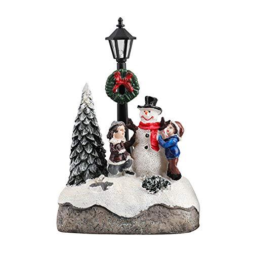 Foxlove Weihnachtsschmuck Weihnachtsbaumschmuck Premium Schneemann Für Den Weihnachtsbaum,...