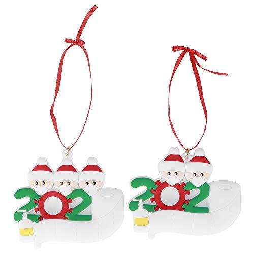 einzigartige Exquisite Xmas Tree Hanging Decor leichte PVC Weihnachtsdekorationen Personalisierte...