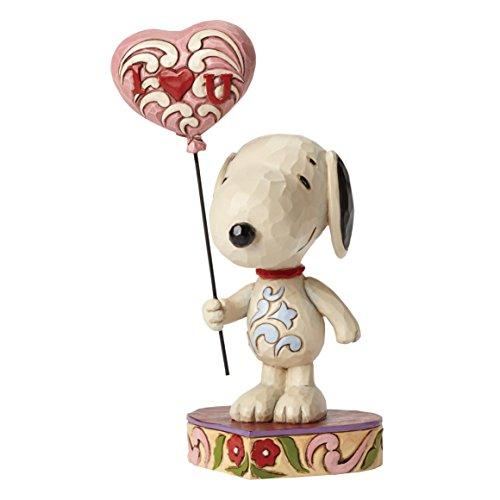 Peanuts von Jim Shore Love Snoopy mit Herz Ballon Figur