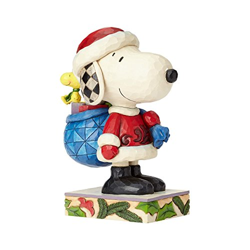 Heartwood Creek Here Comes Snoopy Claus (Snoopy & Woodstock)