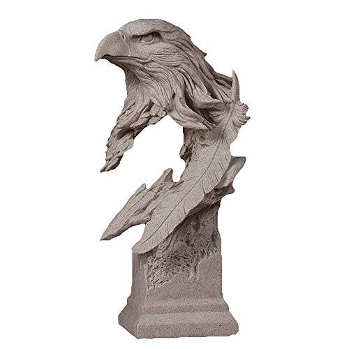 HPDOM Moderne Wohnzimmer Dekoration, Abstrakte Tier Statue, Adler Skulptur, Harz Dekoration,...