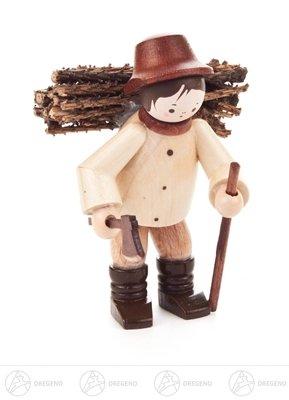 Miniatur Reisigmann natur Höhe ca 5,5 cm NEU Erzgebirge Weihnachtsfigur Holzfigur