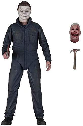 1yess Halloween-Figur Ultimate Michael Myers Actionfiguren 17,8 cm 2018 Remake Horror-Kollektion...