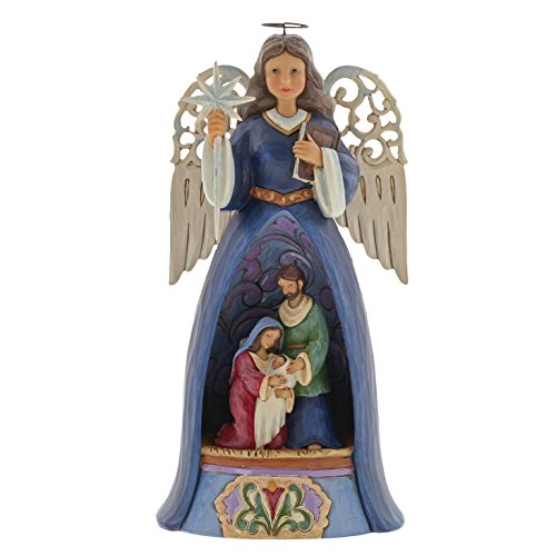Heartwood Creek Savior For All Nativity Angel Figurine