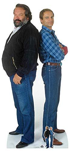 Star Cutouts CS797 Bud Spencer (Carlo Pedersoli) Terence Hill (Mario Girotti) Doppel-Pappaufsteller...