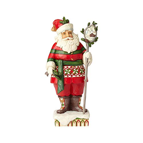 Heartwood Creek Woodsy Santa Figurine