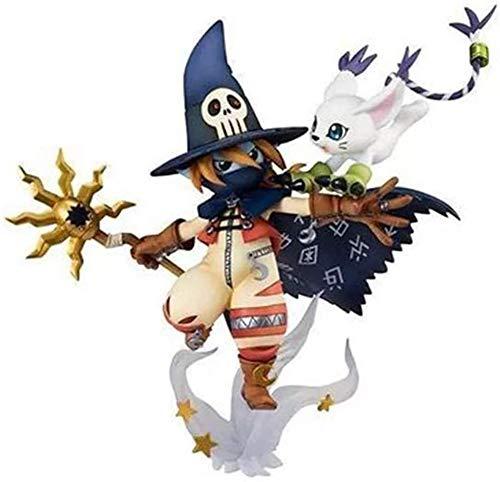 Bck 13cm Figur Collection Ornamente Anime Figure Action Figure Digimon Abenteuer Wizarmon Indoor...
