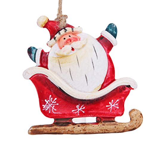 BESPORTBLE Weihnachten Schlitten Puppe Anhänger Home Party hängende Anhänger Cute Xmas Party...