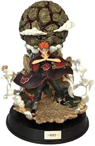 LJUCTD Naruto Pain Tendo Actionfigur Modell PVC Akatsuki Sekte Resonanz Animation Charakter Statue...