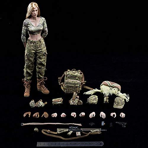 Delili 1/6 Schützin Action Figur Sammlung Soldat Puppenspielzeug Für Sammler, Fotografie Und...