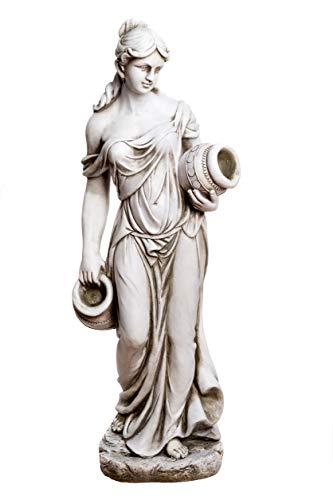 Birendy Große Statue antike Wassertägerin 115 cm hoch SMA212945FR58 Dekofigur, Statue...