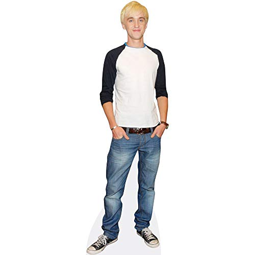 Celebrity Cutouts Tom Felton (Young) Pappaufsteller Mini