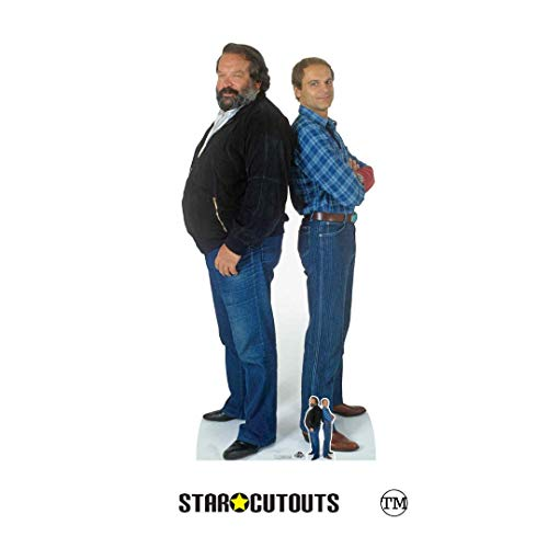 Star Cutouts CS797 Bud Spencer (Carlo Pedersoli) Terence Hill (Mario Girotti) Doppel-Pappaufsteller...