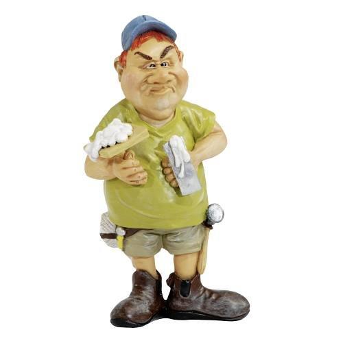 Funny Job - Stukateur mit Spachtel
