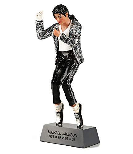 OZUKO Michael Jackson Actionfigur King of Pop Puppe Gedenkstatue Home Wohnzimmer Schreibtisch...