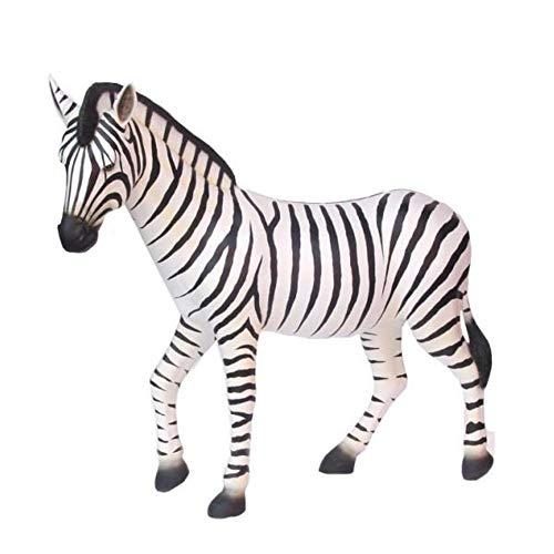 XXL Premium Zebra 160cm lebensgross Garten Deko Figur inkl. Spedition