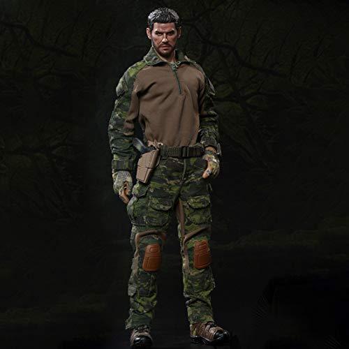 POXL 1/6 Soldat Action Figur, 30cm Soldat Actionfigur Modell Militärsoldat Actionfigur -...