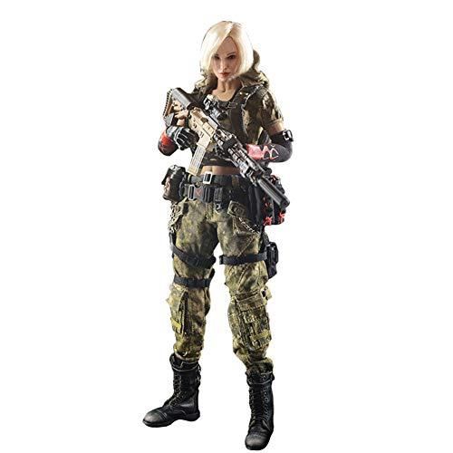 1/6 Doomsday War Series End War Action Figuren Weiblich Soldat Modell Beweglich Soldaten Statuen...