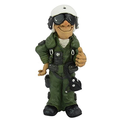 Joh.Vogler GmbH Funny Job - Kampfpilot, Daumen hoch - Wo wir sind, ist Oben !