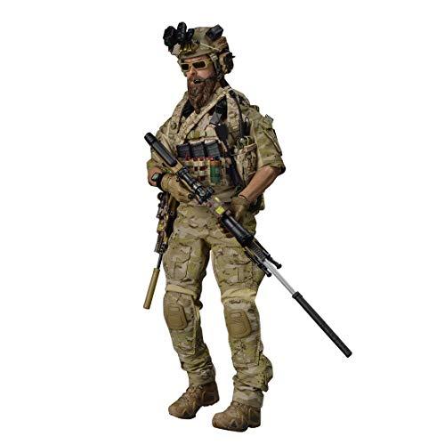 HYZM 1/6 Figur Soldat, 12 Zoll Beweglich Soldaten Modell Militär Figur Actionfiguren Spielzeug - US...