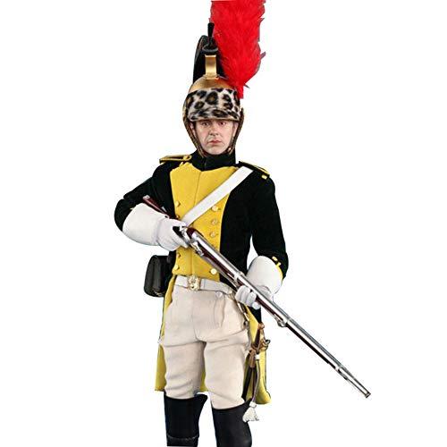 1/6 Action Figuren Soldat Modell Französische Dragoner Der Französischen Napoleon-Serie Statuen...