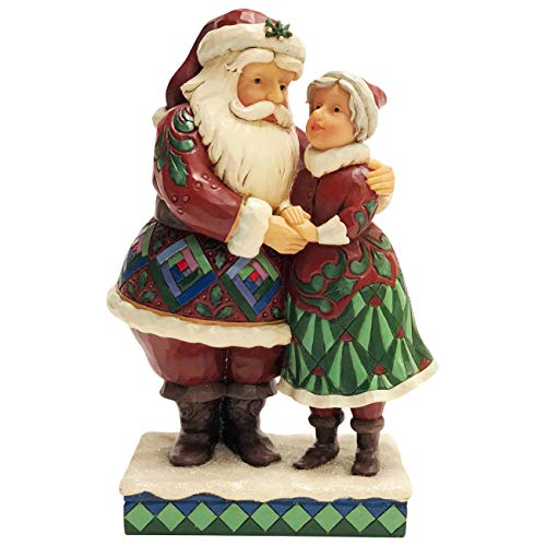 Heartwood Creek by Jim Shore Santa und Mrs Claus Figurine