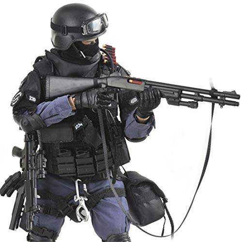 Batop 1/6 Soldat Modell, 12 Zoll SWAT Spezielle Polizei Soldat Actionfigur Modell Spielzeug Militär...