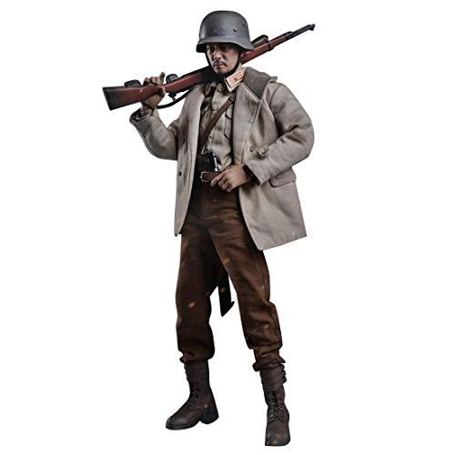 HYZM 1/6 Figur Soldat, 12 Zoll Beweglich Soldaten Modell Militär Figur Actionfiguren Spielzeug -WW2...