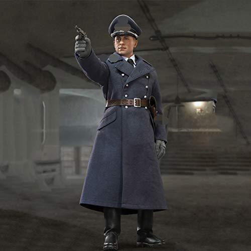 MXUS 1/6 WWII German Air Force Captain Actionfiguren Militärsoldat Spielzeugstatuenmodell Sammlung...