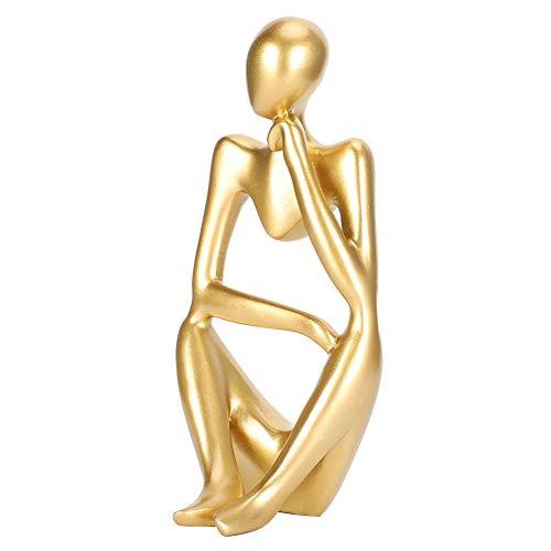 nobrand Die Denker Statue, handgemachte abstrakte Denker Skulptur Moderne bildende Kunstfigur für...