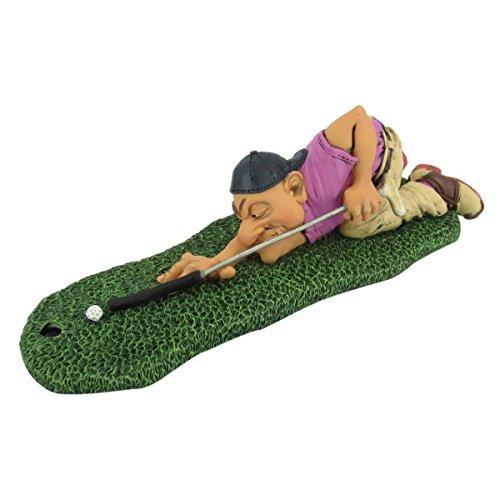 Funny Sports - Billard Golfer nimmt Schläger als Cueue