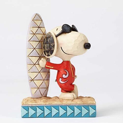 Enesco Peanuts by Jim Shore Joe Cool Snoopy mit Surfbrett