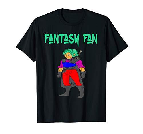 Fantasy Fan Anime und Manga, auch Comic und Cosplayer Fans T-Shirt