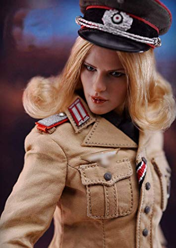 ZSMD 12' Action Figure 1/6 WWII Germany Figure 1/6 Female Officer Figure