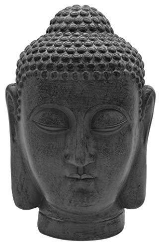 Möbelbörse XL Buddha Kopf 40cm | groß Skulptur Statue Dekofigur Garten Figur | Asia Deko |...