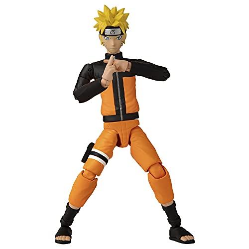 BANDAI Shippuden – Anime Heroes Figur 17cm – Naruto Uzumaki – 36901, Mehrfarbig
