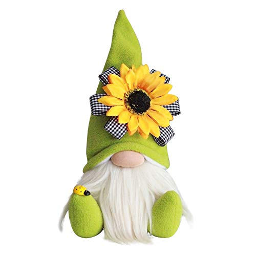 Hetangyuese Wichtel Deko GNOME Figuren Frühling Ostern Muttertag Deko Tischdekoration Wichtel Deko...