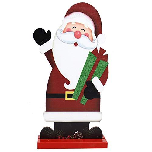 heekpek Aufblasbarer Weihnachtsmann Befestigungsmaterial Weihnachtsdekoration Weihnachtsdeko Figur...