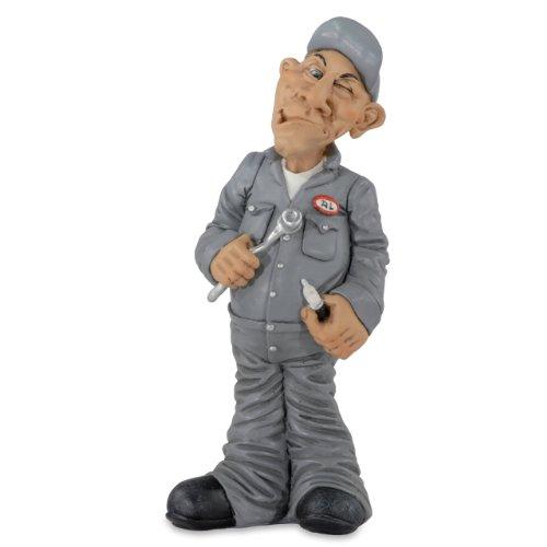Mechaniker stehend Figur Hobby Beruf Funny Jobs Karikatur 16,5cm Dekofigur LEA20