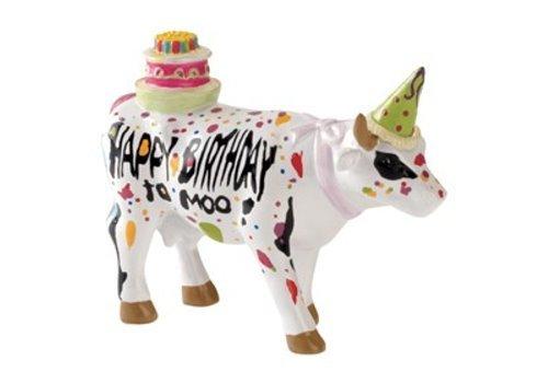 CowParade Happy Birthday to Moo (S) Mini Kuh