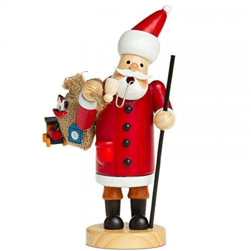 Sikora RM-A Räuchermännchen aus Holz 3 Größen Verschiedene Motive, Farbe/Modell:A01 rot -...