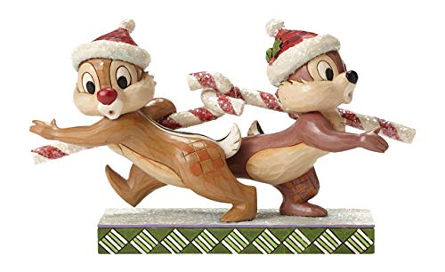 Disney Tradition Candy Cane Caper (Chip 'N' Dale Figur)