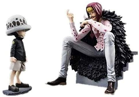 Bck 6.3inch Trafalgar Recht Kindheit Donquixote ROSINANTE One Piece Anime Figure Action Figure...