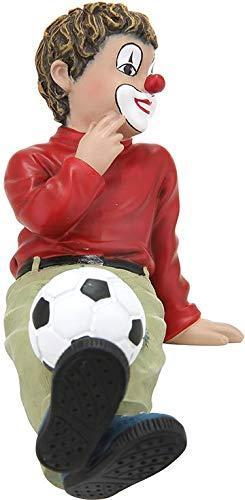 Gildeclown Balljunge - Dekofigur und Sammlerstück handgefertigt Höhe 12 cm