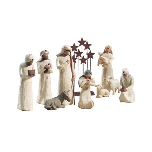 Willow Tree 10 Pc. Starter Nativity Set By Demdaco by Willow Tree