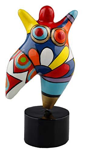 Hommage an Niki de Saint Phalle - Skulptur Figur Dicke Frau Nana Molly small