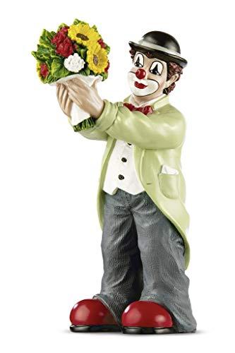 GILDE Clown Figur Alles Gute 15cm Blumen Sagen mehr als tausend Worte, Geschenke zum Muttertag