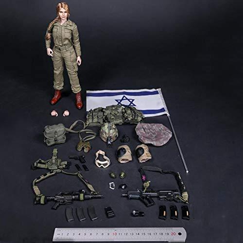 Delili 1/6 Israelische Verteidigungskräfte Action Figur Giant Wave Reconnaissance Company Soldat...