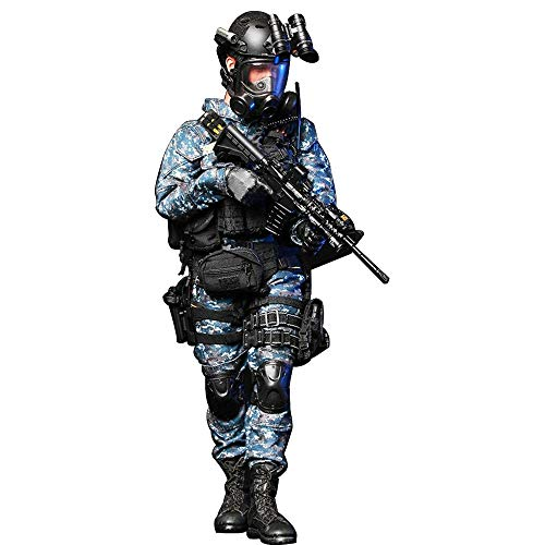 Batop 1/6 Soldat Modell, 12 Zoll US Navy Soldat Actionfigur Modell Spielzeug Figuren Militär Soldat...