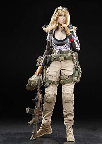 1/6 Soldaten Actionfiguren Kampfmädchen Gemini Zona Figur Ornamente Soldat Modell Für Fans...